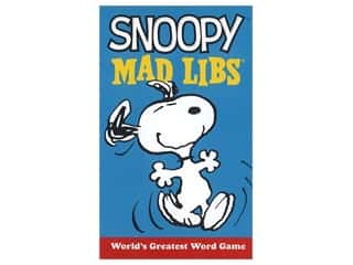 Price Stern Sloan Snoopy Mad Libs Book