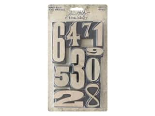 Tim Holtz Idea-ology Number Blocks