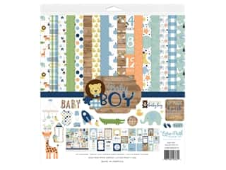 "Echo Park Collection Baby Boy Kit 12""x 12"""