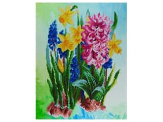 "Diamond Art Kit 14""x 16"" Advanced Wildflowers"