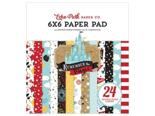 "Echo Park Collection Remember The Magic Paper Pad 6""x 6"""