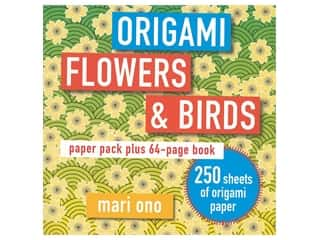 Cico Books Origami Flowers & Birds Book