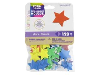 Darice Foamies Stickers 120 pc. Mini Stars