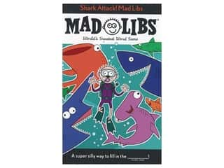 books & patterns: Price Stern Sloan Shark Attack! Mad Libs Book