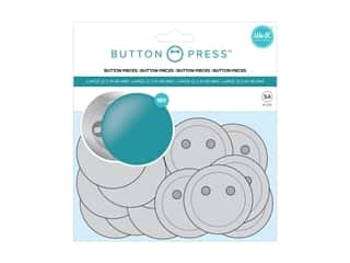 We R Memory Button Press Button Pieces 2.25 in. 18 pc