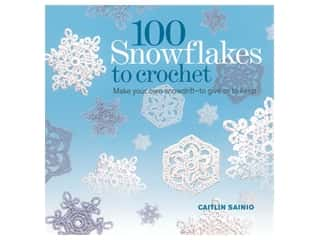 St Martin's Griffin 100 Snowflakes To Crochet Book