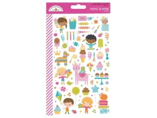 Stickers: Doodlebug Collection Hey Cupcake Mini Sticker Icon