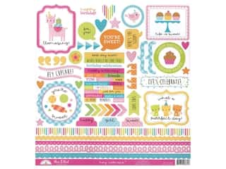 Stickers: Doodlebug Collection Hey Cupcake Sticker This & That
