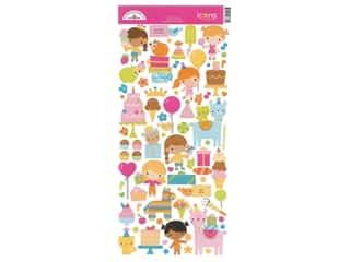 Stickers: Doodlebug Collection Hey Cupcake Sticker Icon