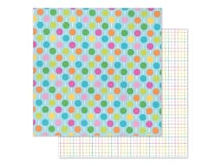 """Doodlebug Collection Hey Cupcake Paper 12""""x 12"""" Lollies (25 pieces)"""