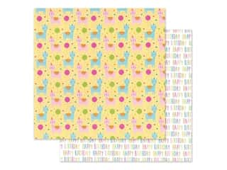 """Doodlebug Collection Hey Cupcake Paper 12""""x 12"""" Party Animals (25 pieces)"""