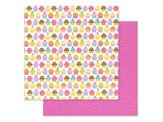 """Doodlebug Collection Hey Cupcake Paper 12""""x 12"""" Hey Cupcake (25 pieces)"""