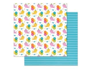"""Doodlebug Collection Hey Cupcake Paper 12""""x 12"""" Party Purrrfect (25 pieces)"""