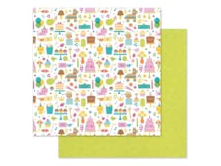"""Doodlebug Collection Hey Cupcake Paper 12""""x 12"""" Birthday Girl (25 pieces)"""