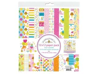 "Doodlebug Collection Hey Cupcake Paper Pack 12""x 12"""