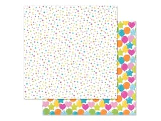 """Doodlebug Collection Hey Cupcake Paper 12""""x 12"""" Funfetti (25 pieces)"""