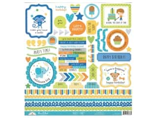 Doodlebug Party Time Sticker This & That