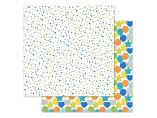 "Doodlebug Party Time Paper 12""x 12"" Confetti Fest (25 pieces)"
