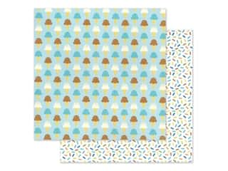 """Doodlebug Party Time Paper 12""""x 12"""" Here's The Scoop (25 pieces)"""