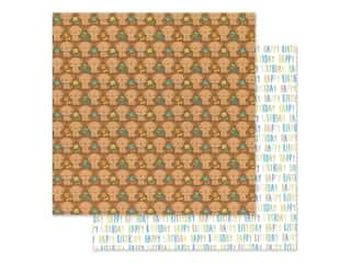 "Doodlebug Party Time Paper 12""x 12"" Playful Puppies (25 pieces)"