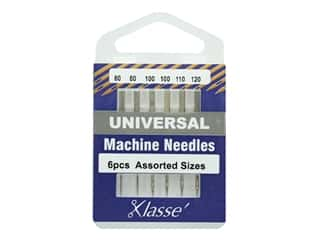 Klasse Machine Needle Universal Assorted Size 6pc
