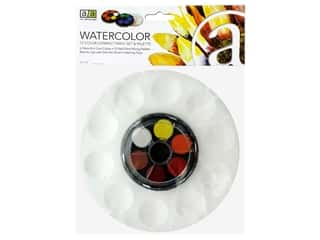 Art Advantage Paint Set Compact Watercolor And Palette 12 Color