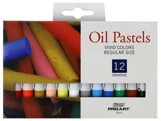 Pro Art Oil Pastel 12 pc. Vivid Colors