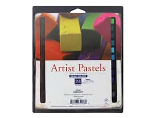 Pro Art Artist Pastel Set 24 Color Square