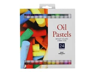 Pro Art Oil Pastel 24 pc. Jumbo Bright Colors