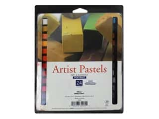 Pro Art Artist Pastel Square Portrait 24pc