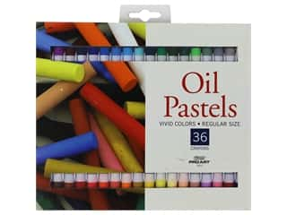 Pro Art Oil Pastel 36 pc. Vivid Colors