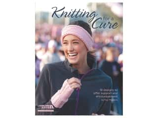 yarn: Leisure Arts Knitting For A Cure Book