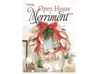 Leisure Arts Open House Merriment Book