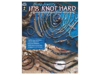 beading & jewelry making supplies: Hot Off The Press Hemp Jewelry It's Knot Hard Book