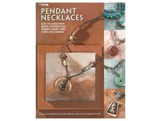 beading & jewelry making supplies: Leisure Arts Pendant Necklaces Book