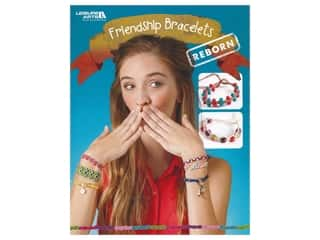 beading & jewelry making supplies: Leisure Arts Friendship Bracelets Reborn Book