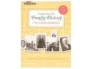 scrapbooking & paper crafts: Leisure Arts Creating Keepsakes Scrapbooking Your History Book
