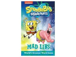 Price Stern Sloan SpongeBob SquarePants Mad Libs Book