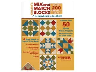 Leisure Arts Quilter's Mix and Match Blocks Handbook