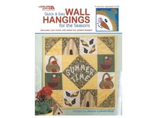 Leisure Arts Quick & Easy Wall Hangings For The Seasons Book