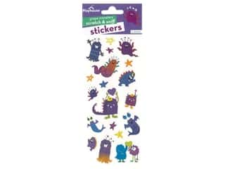 scrapbooking & paper crafts: Paper House Sticker Scratch & Sniff Grape Monsters