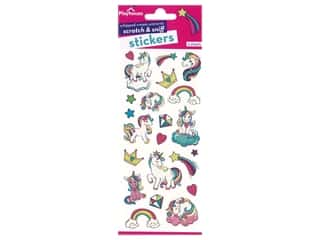 scrapbooking & paper crafts: Paper House Sticker Scratch & Sniff Whipped Cream Unicorns