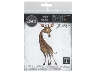 scrapbooking & paper crafts: Sizzix Dies Tim Holtz Thinlits Gertrude Colorize