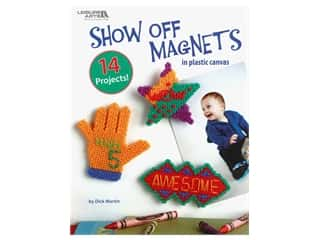 yarn & needlework: Leisure Arts Show Off Magnets In Plastic Canvas Book