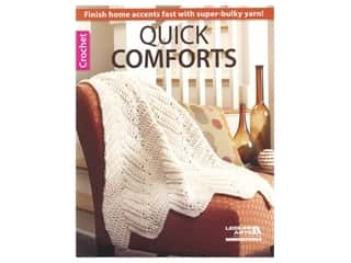 Leisure Arts Quick Comforts Crochet Book