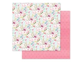 "Carta Bella Collection Flora #3 Paper 12""x 12"" Bright Small Floral (25 pieces)"