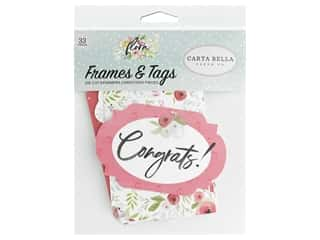 Carta Bella Collection Flora #3 Frames & Tags