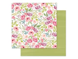 "Carta Bella Collection Flora #3 Paper 12""x 12"" Bright Large Floral (25 pieces)"