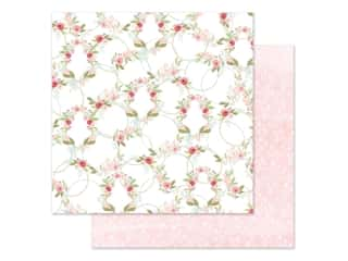 "Carta Bella Collection Flora #3 Paper 12""x 12"" Subtle Wreaths (25 pieces)"