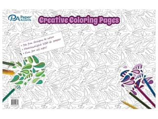 Paper Accents Creative Coloring Pages 11 x 17 in. 36 pc.